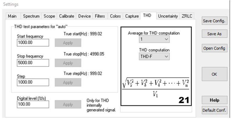 Скрин вкладки THD