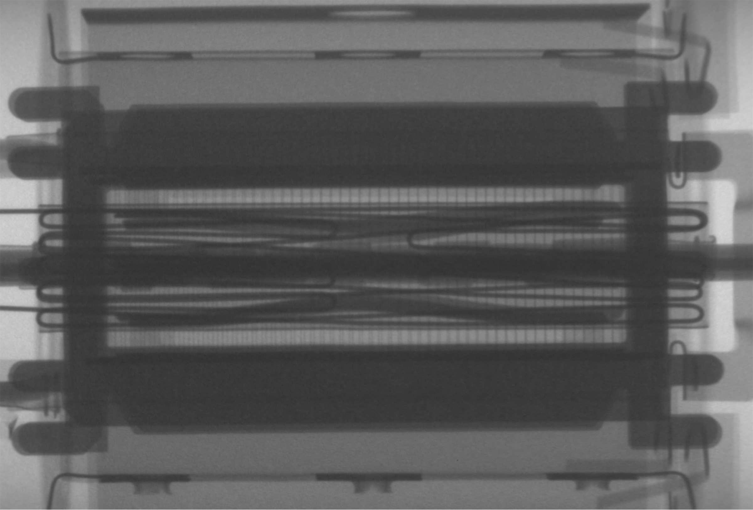 Рентгенография радиолампы 6П36С