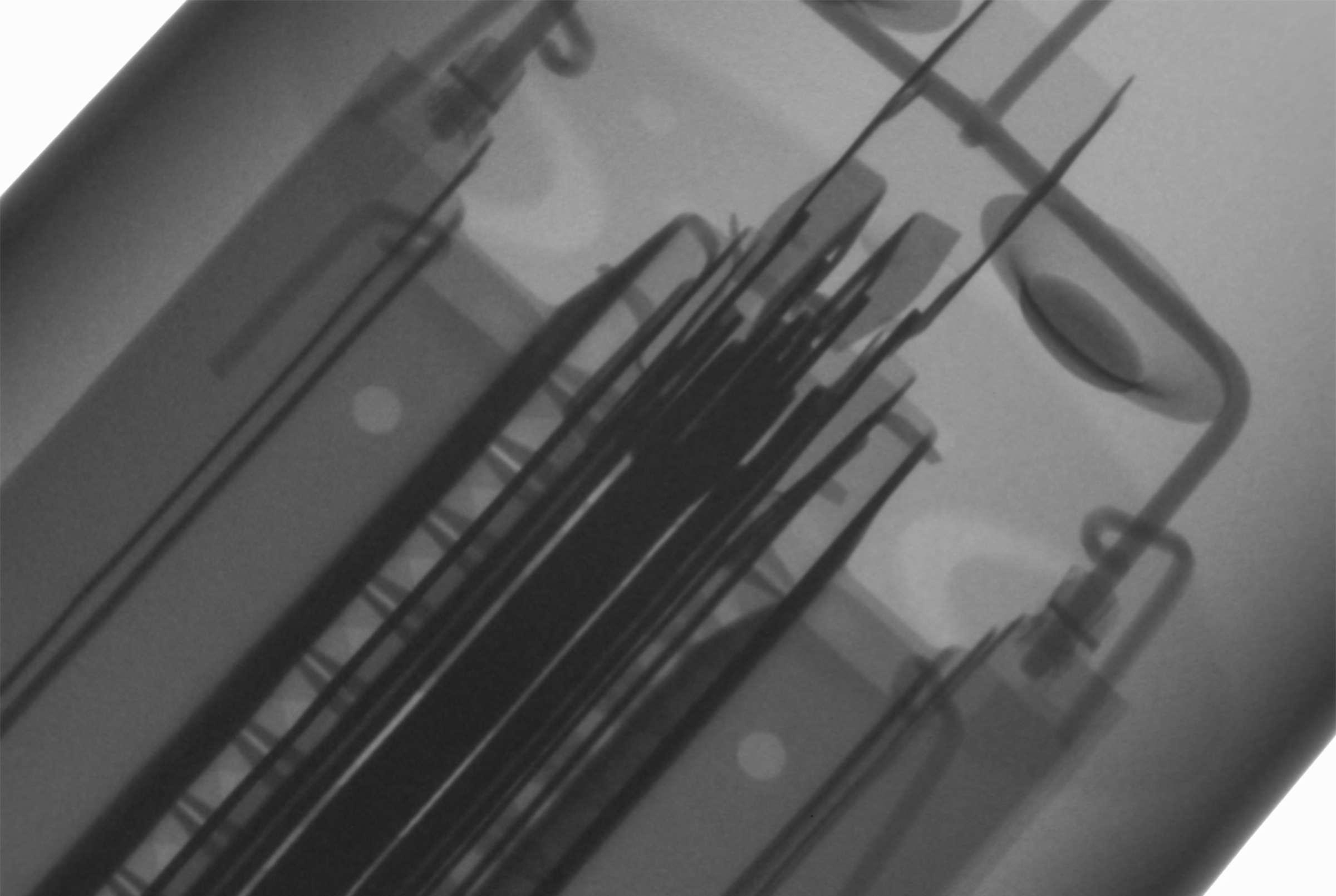 Рентгенография радиолампы 6П42С