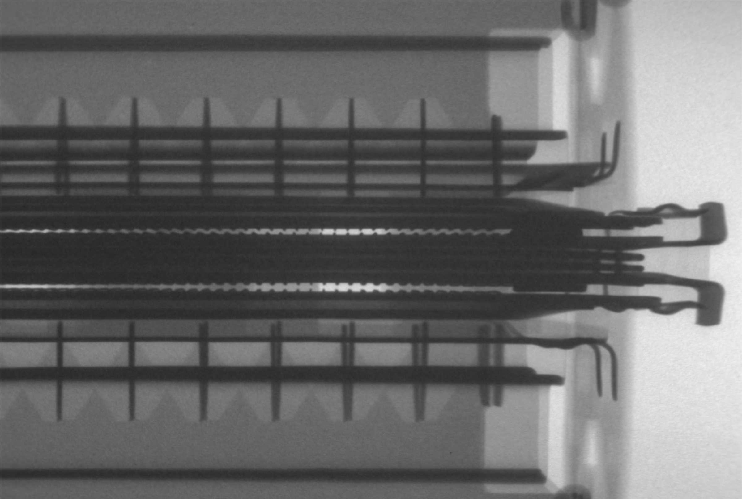 Рентгенография радиолампы 6П45С