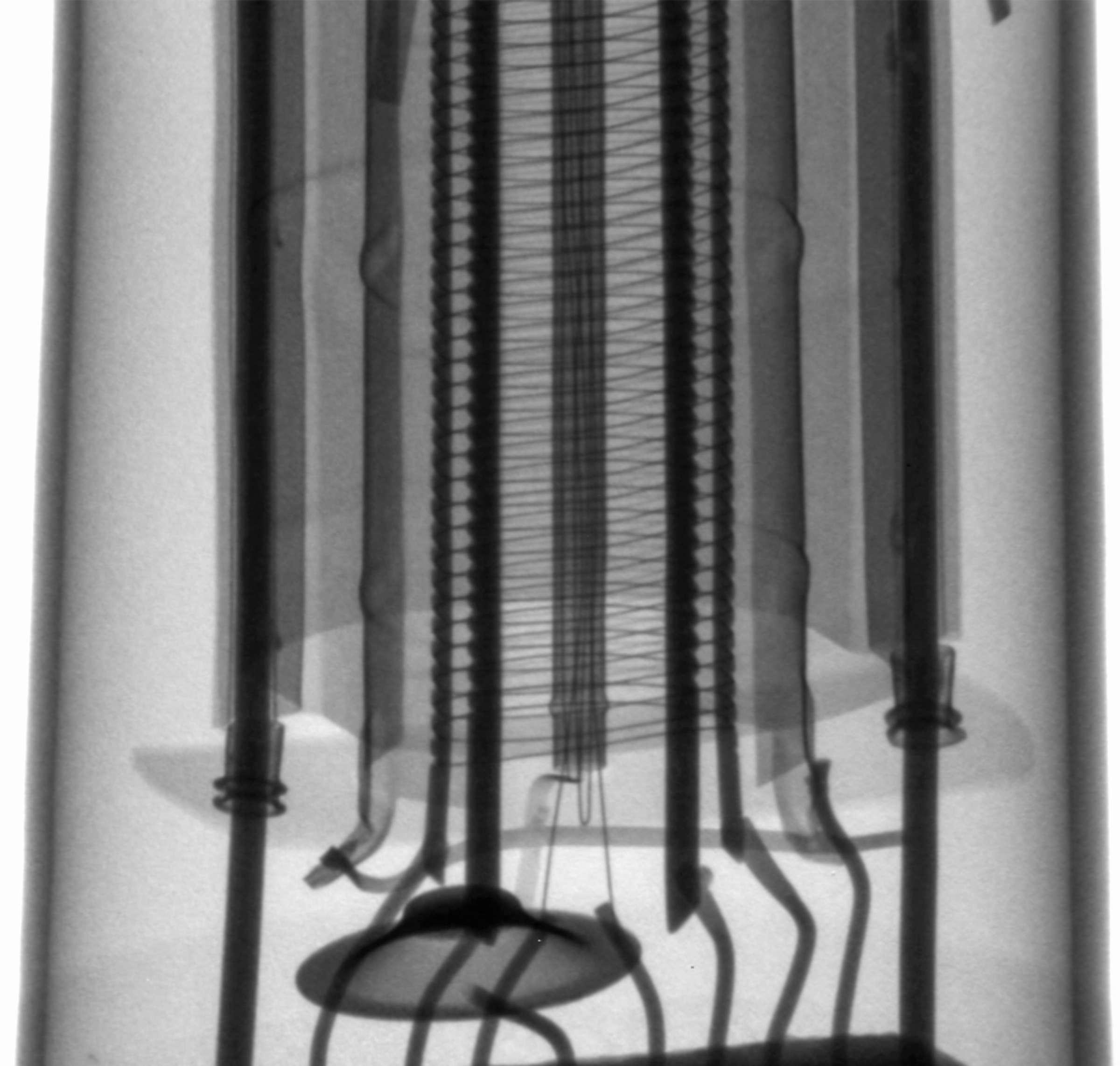 Рентгенография радиолампы 6П6С