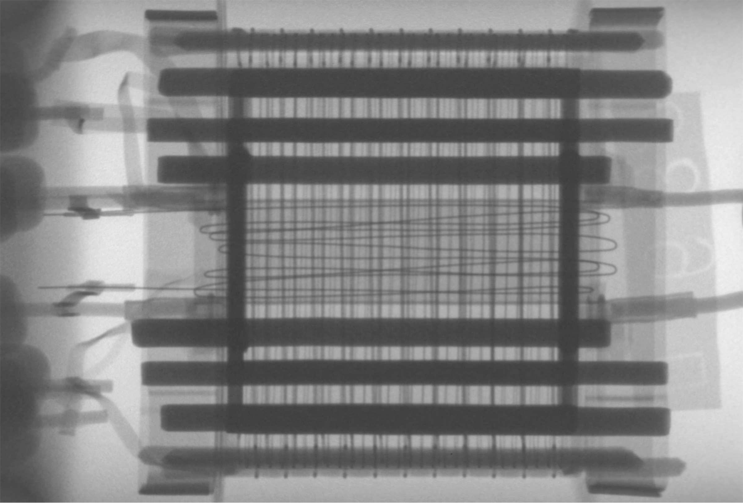 Рентгенография радиолампы 6А4П