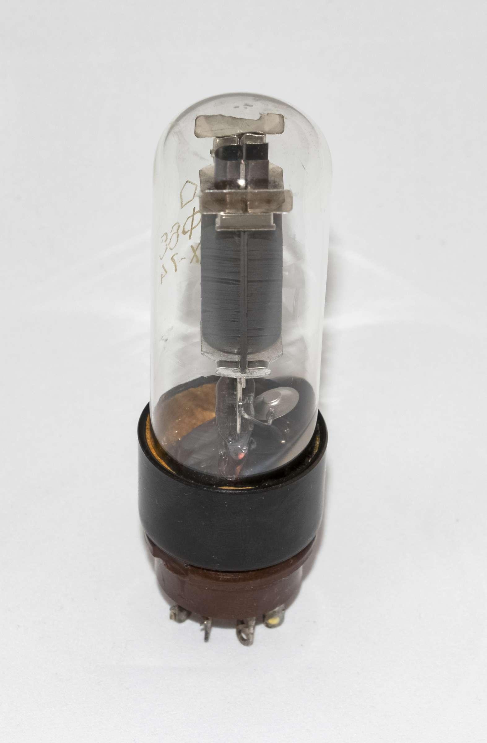 Внешний вид радиолампы 6Ф6С