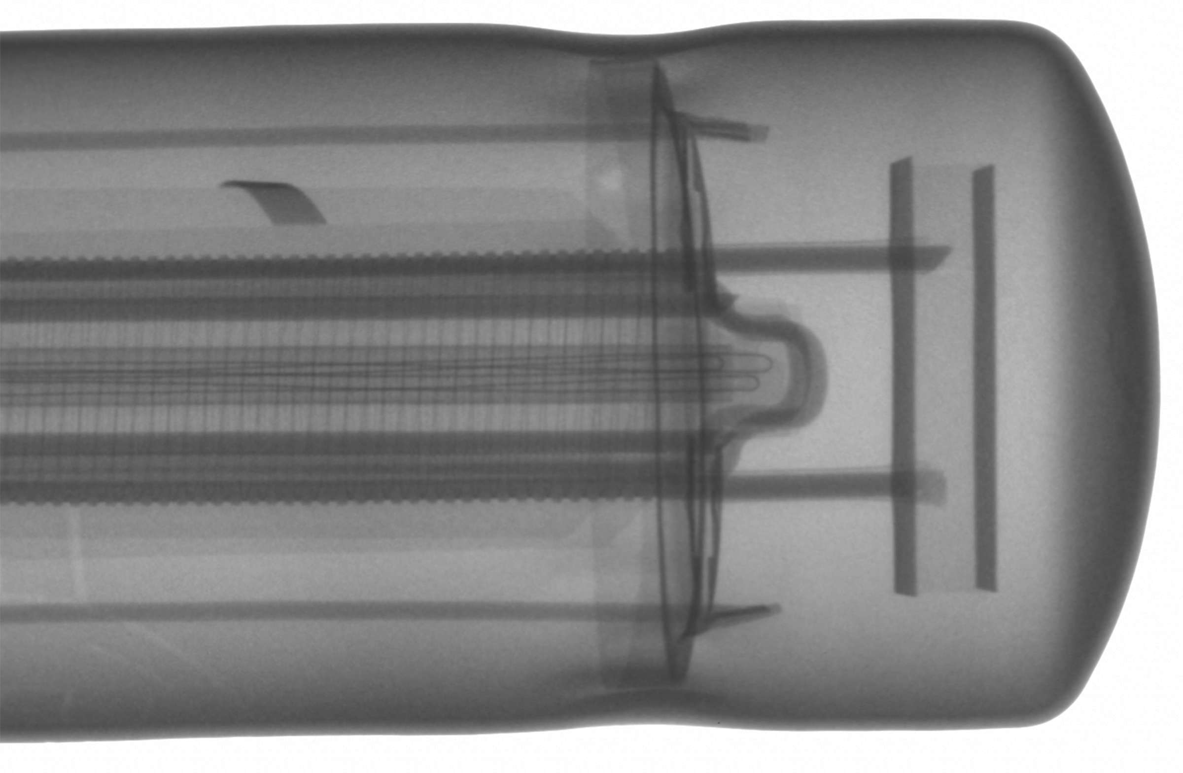 Рентгенография радиолампы 6П9