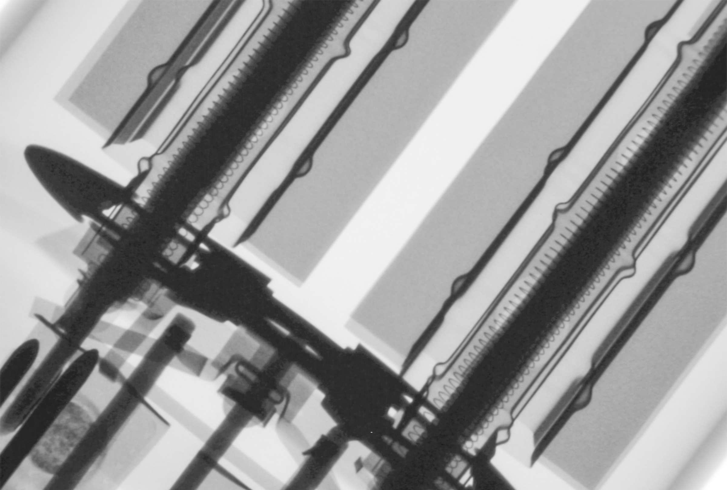 Рентгенография радиолампы ГИ-30