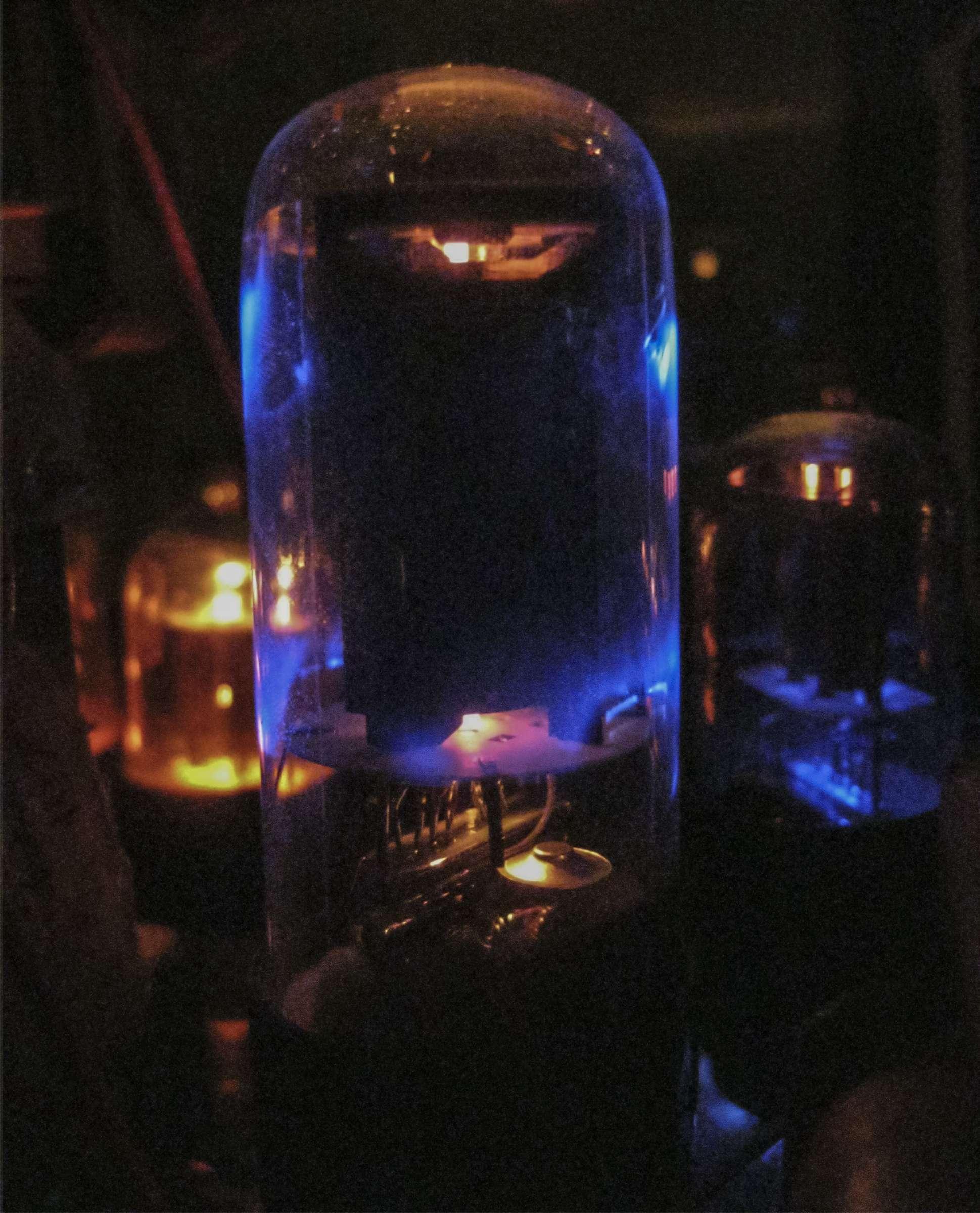 Усилитель на 6Н9С и 6П6С (6П3С) при проведении испытаний