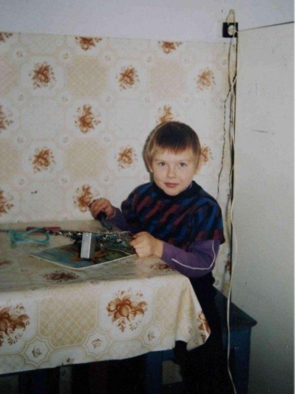 Фото админа в возрасте 5-6 лет