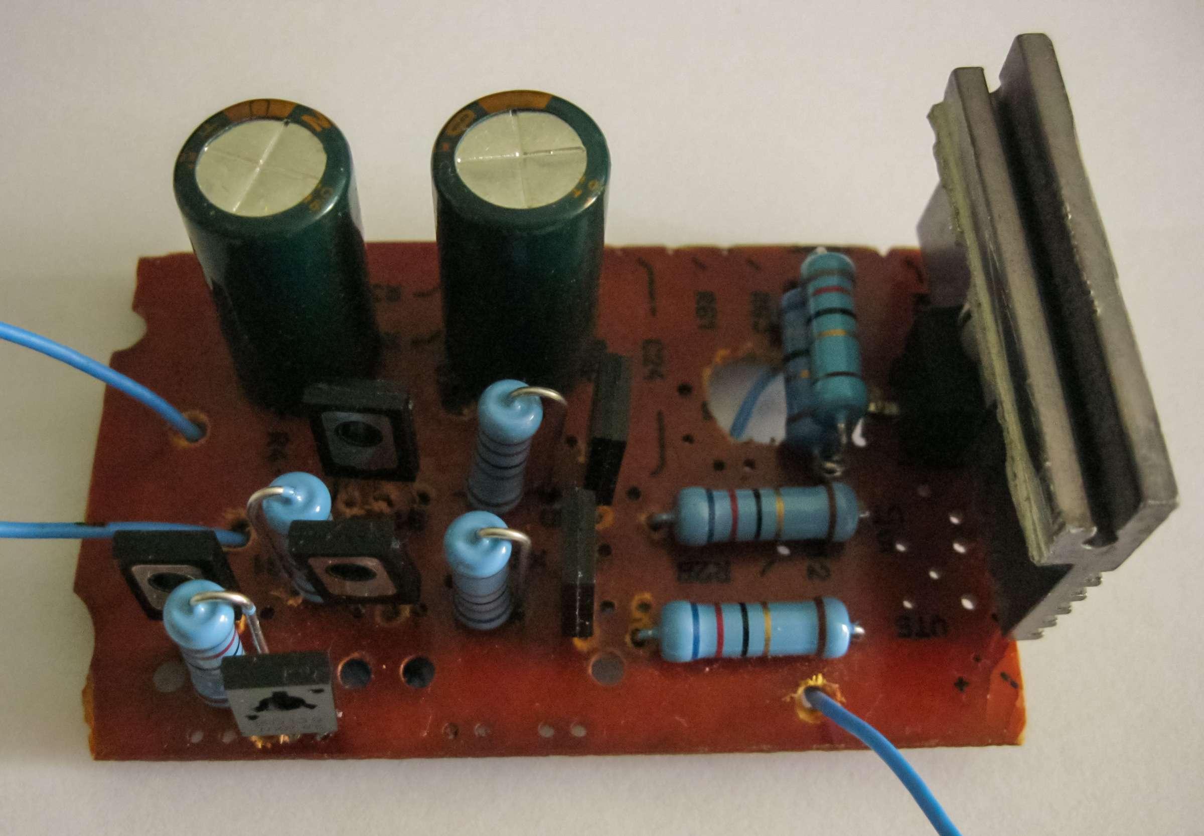 Внешний вид макета катодного источника тока