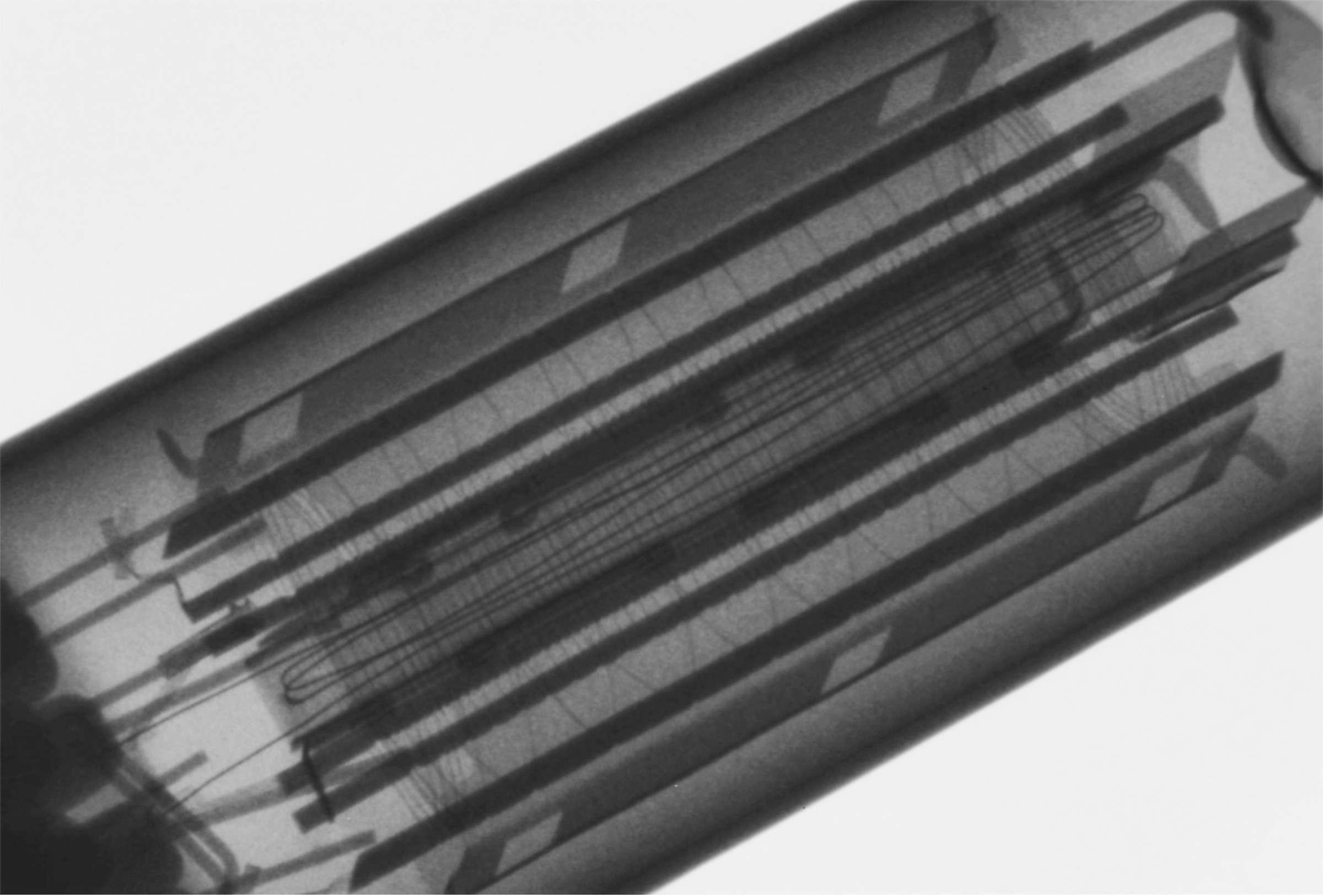 Рентгенография радиолампы 6П14П