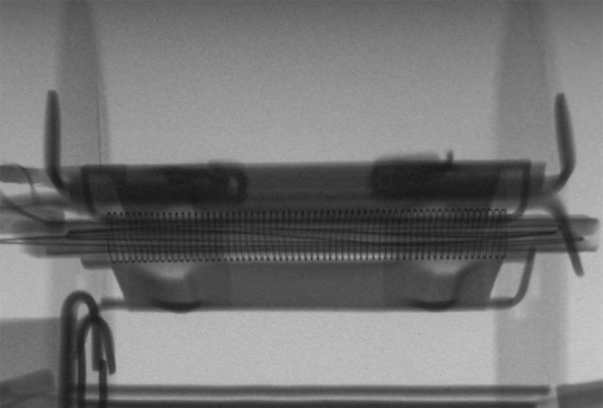 Рентгенография радиолампы 6Н3П