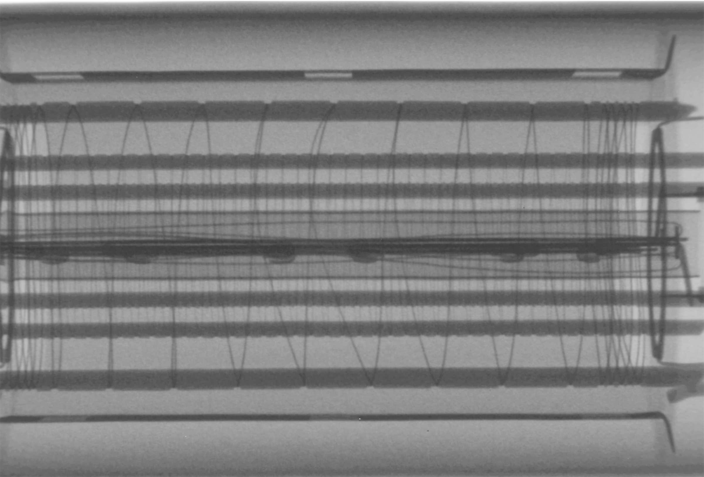 Рентгенография радиолампы 6П18П