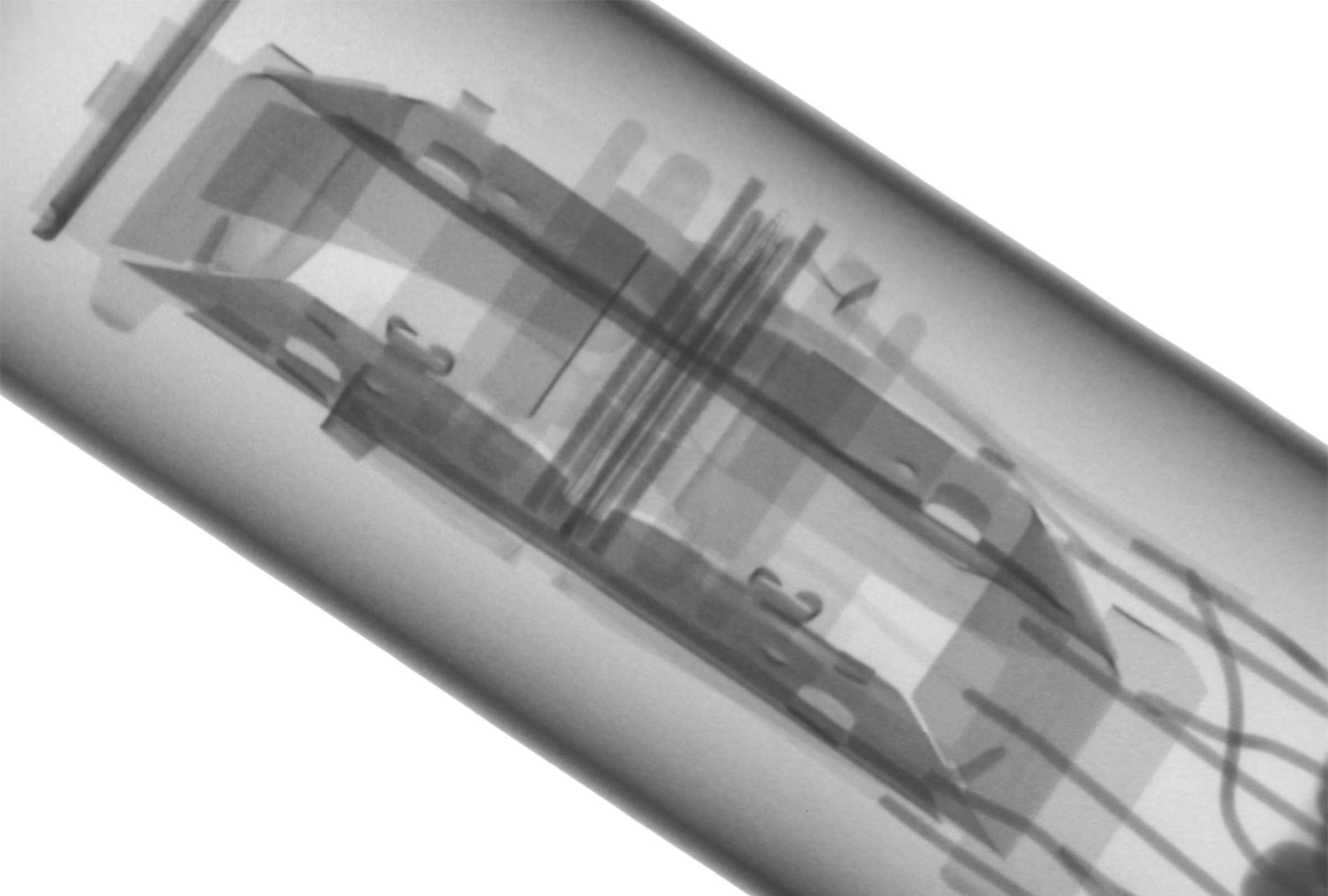 Рентгенография радиолампы 6Е3П