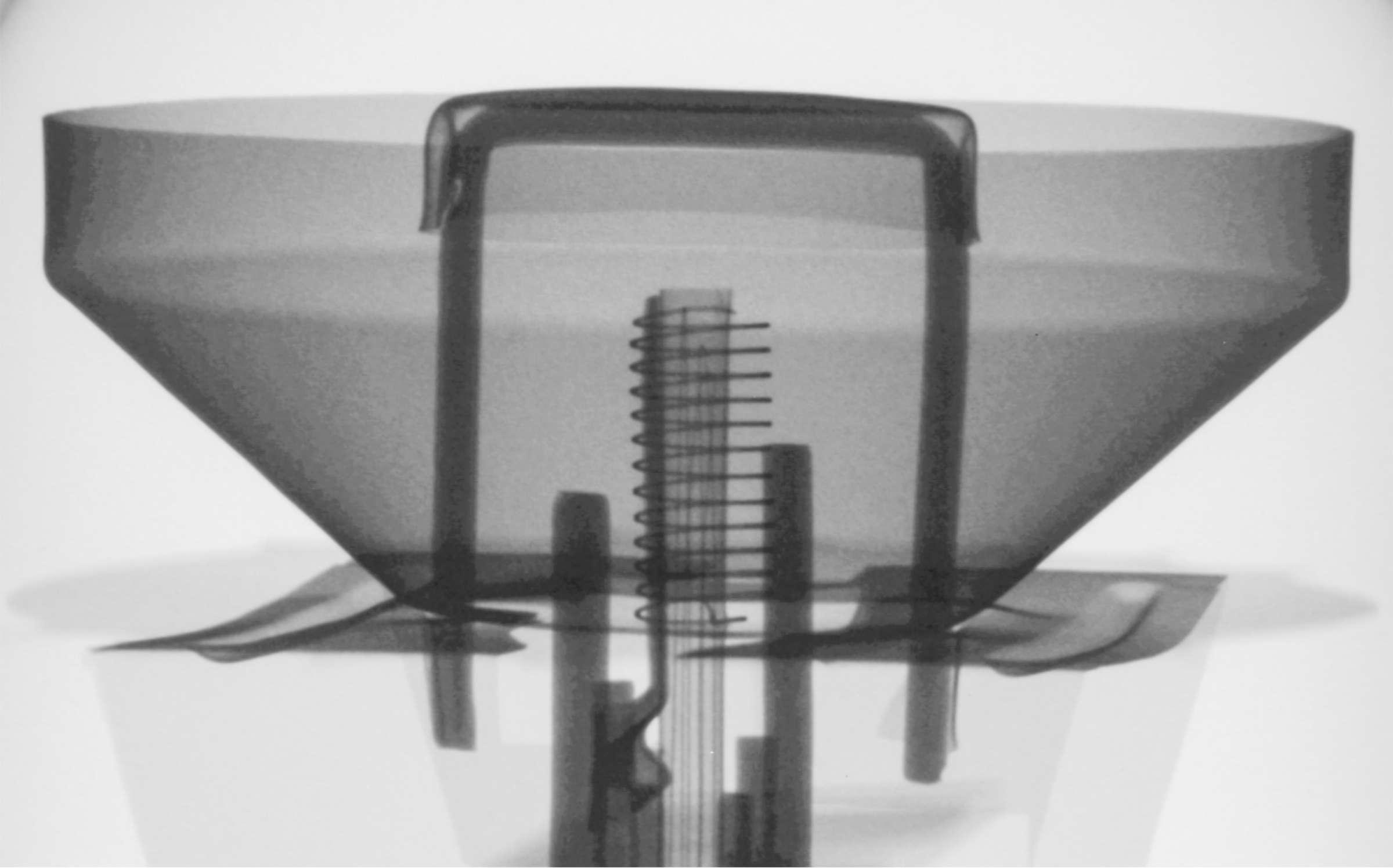 Рентгенография радиолампы 6Е5С