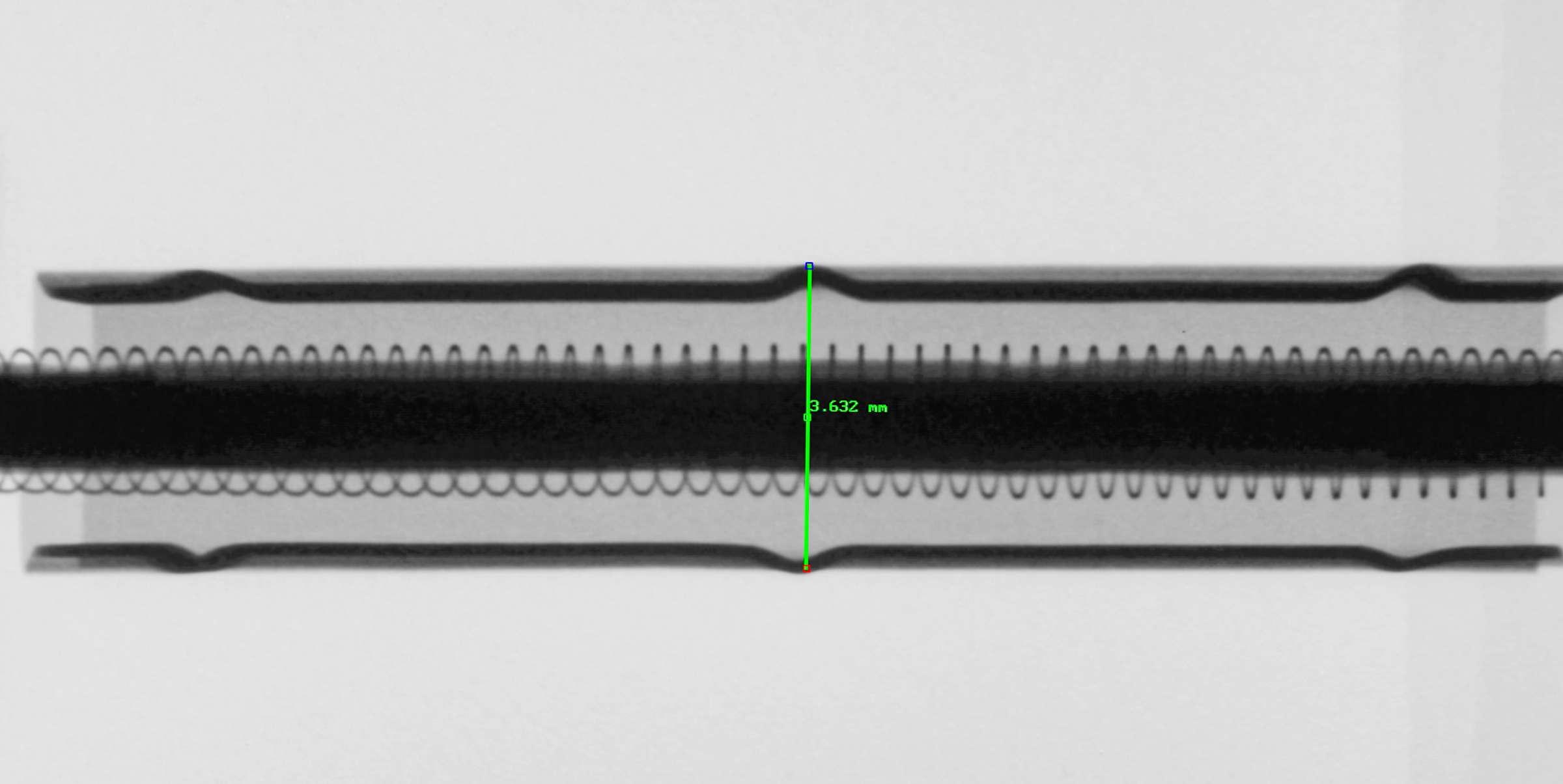 Рентгенография радиолампы 6С2С