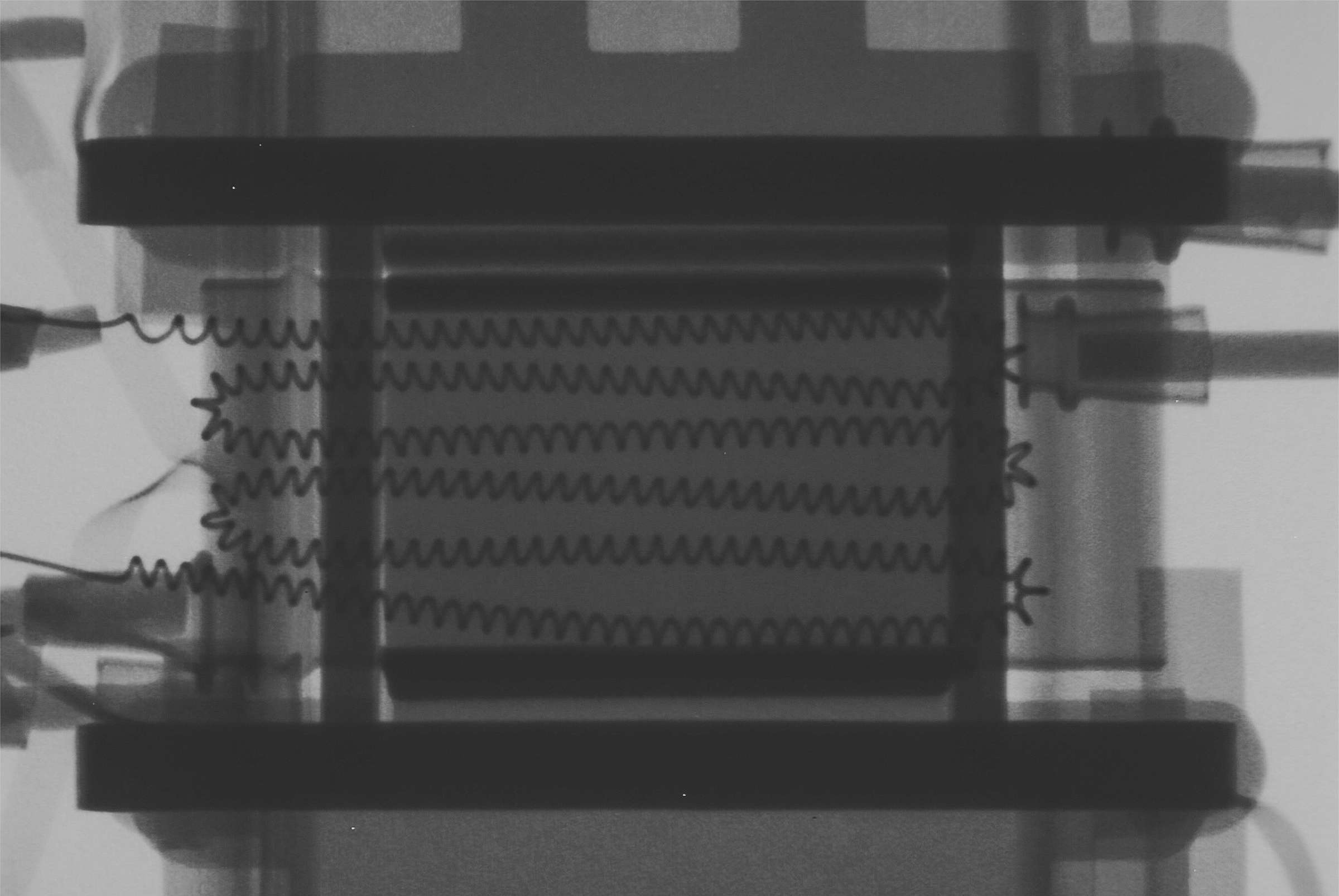 Рентгенография радиолампы 6С3П-ЕВ