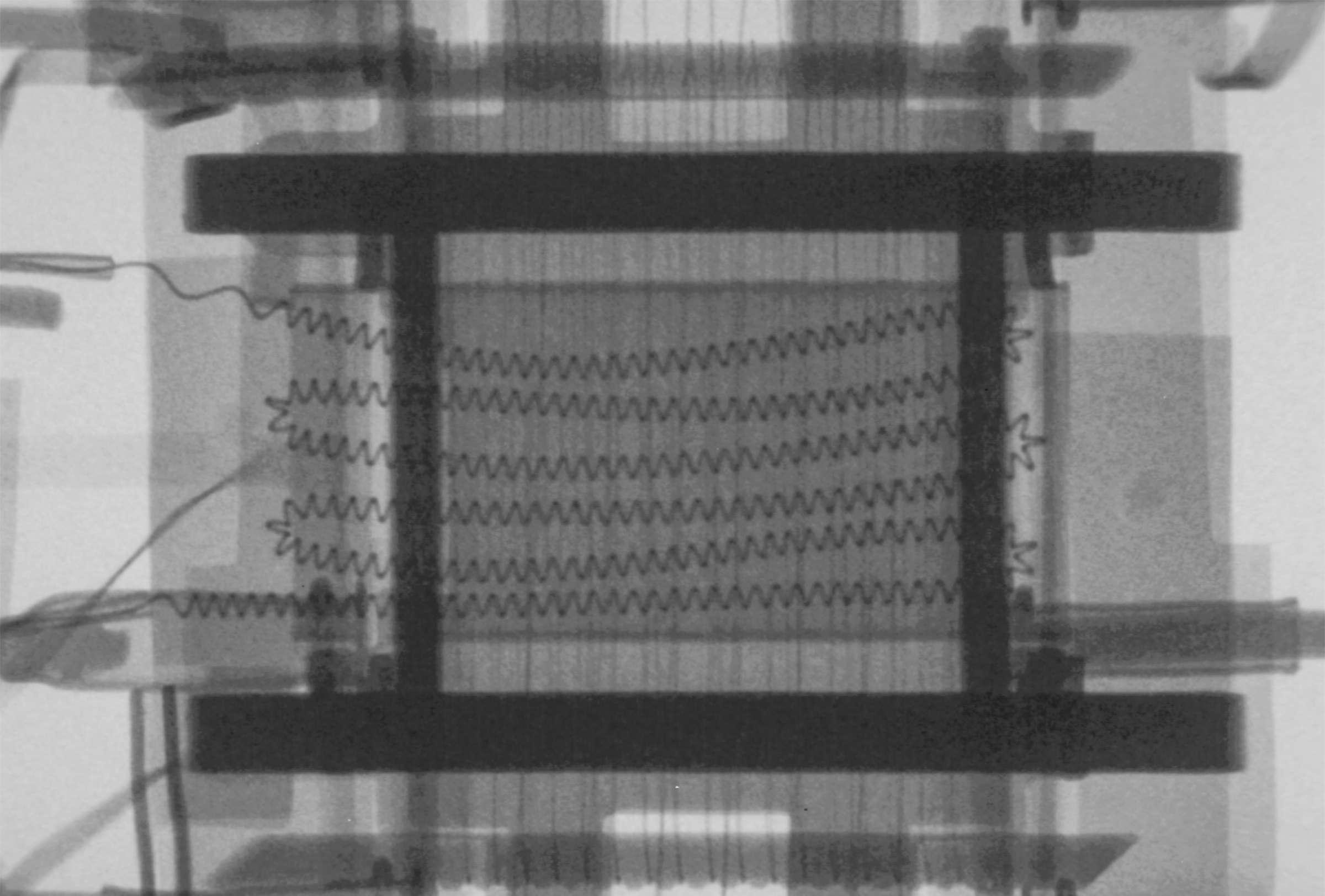 Рентгенография радиолампы 6Ж9П