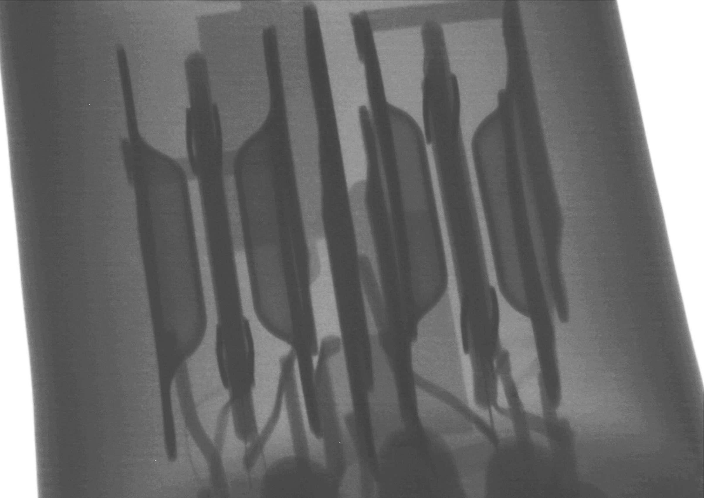 Рентгенография радиолампы 6Н23П