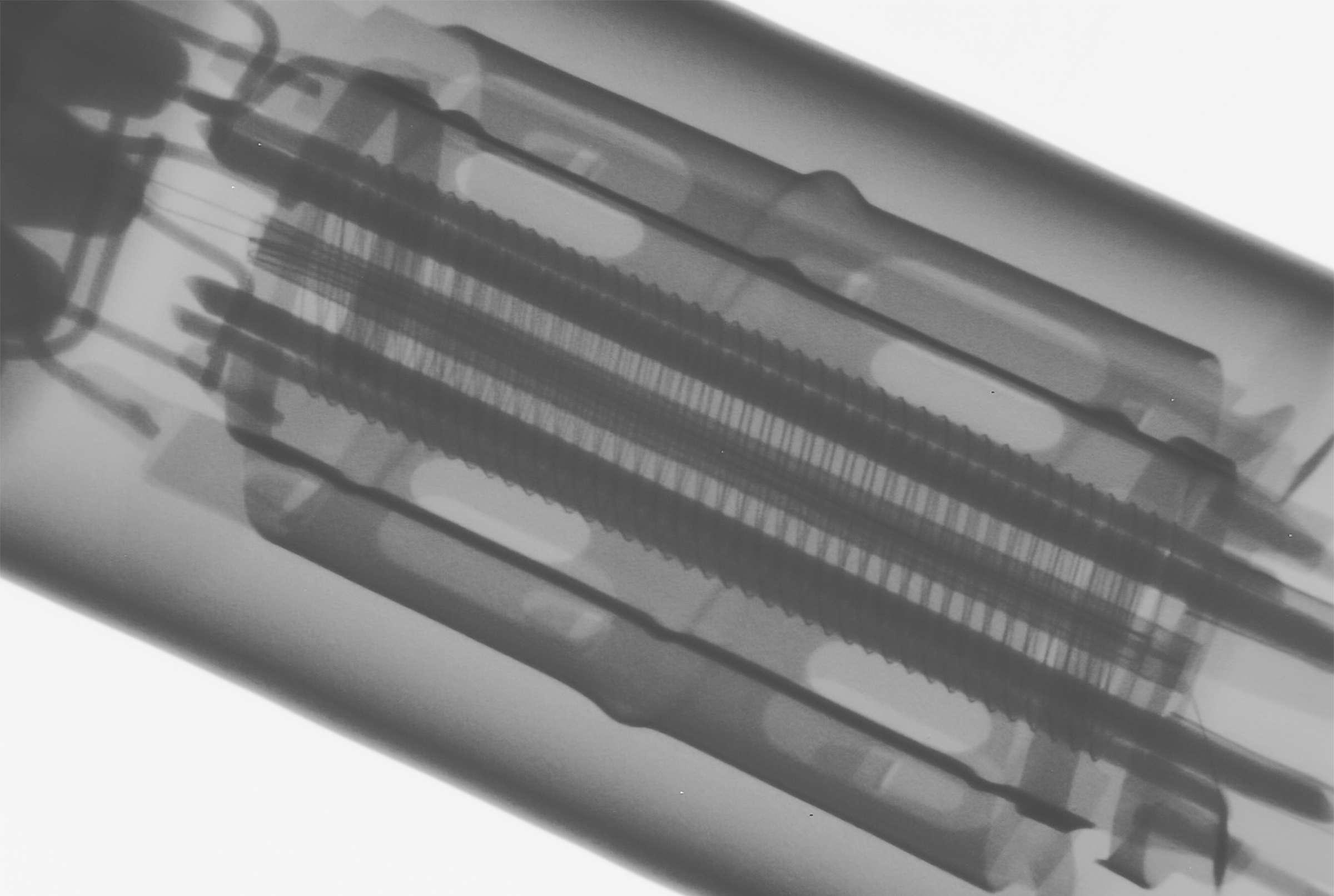 Рентгенография радиолампы 6П1П
