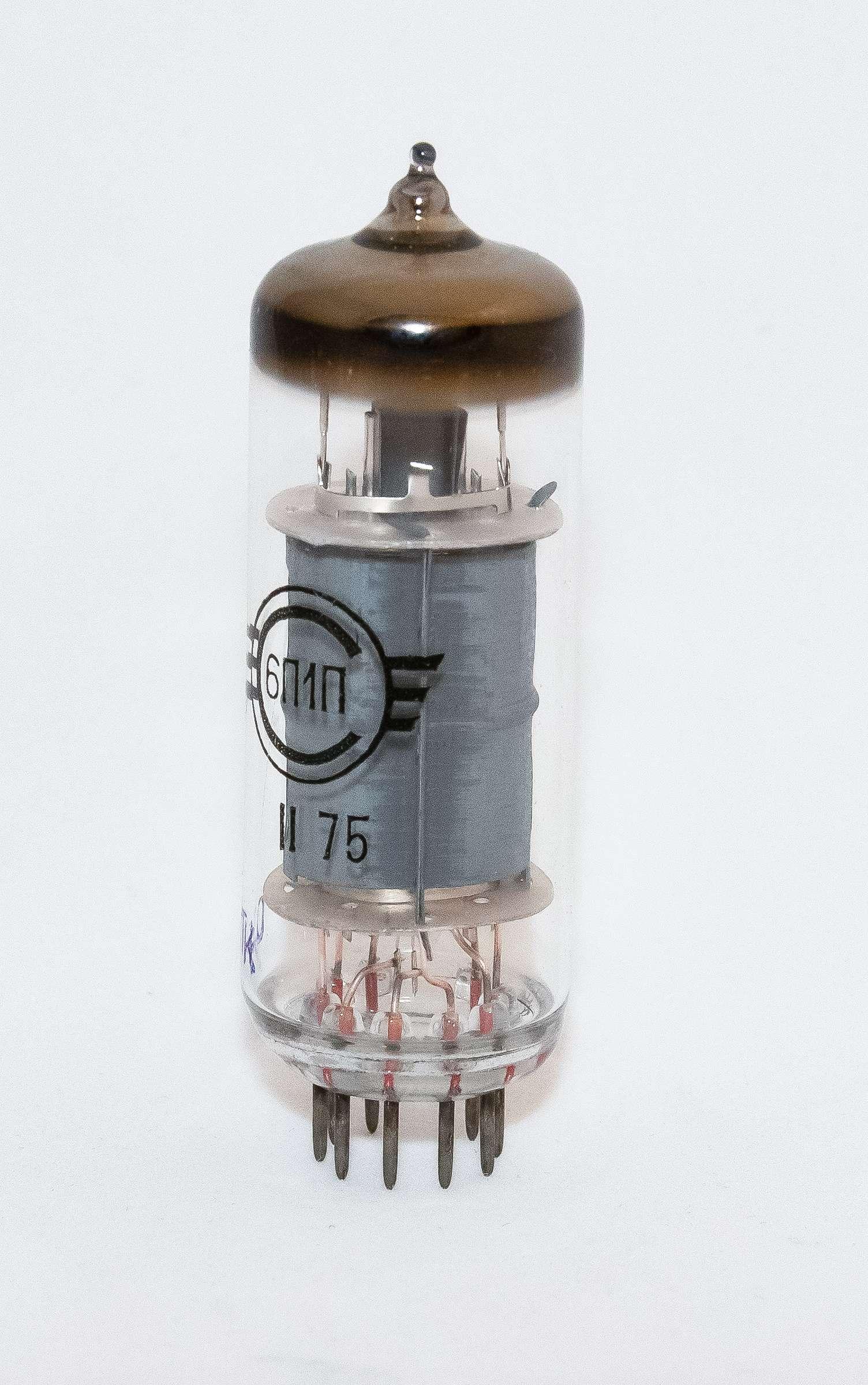 Внешний вид радиолампы 6П1П