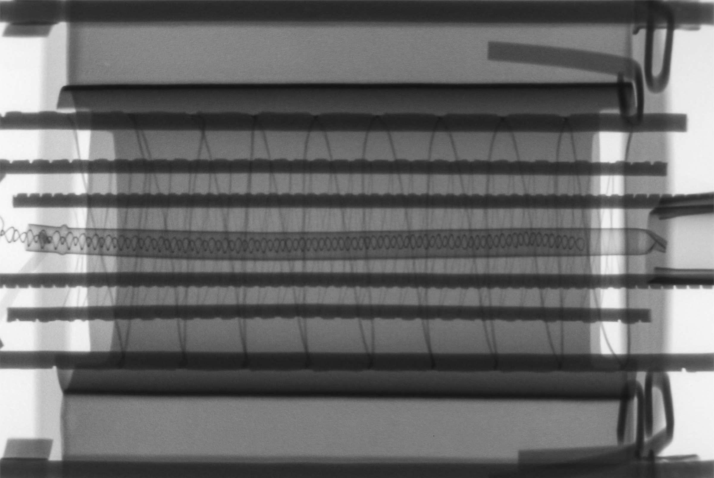 Рентгенография радиолампы 6П8С