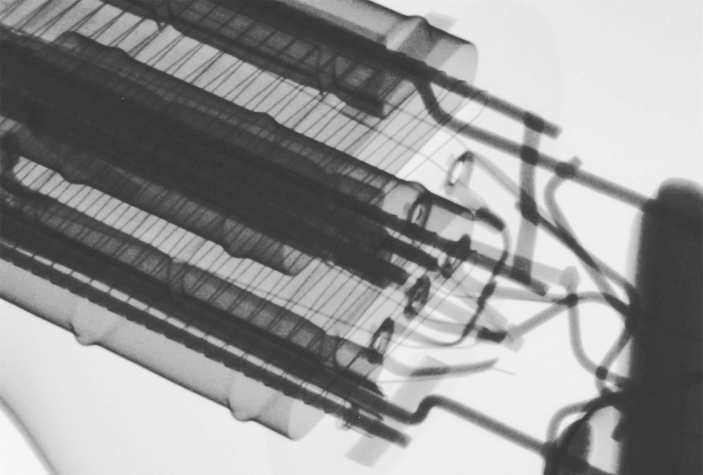 Рентгенография радиолампы 6С4С