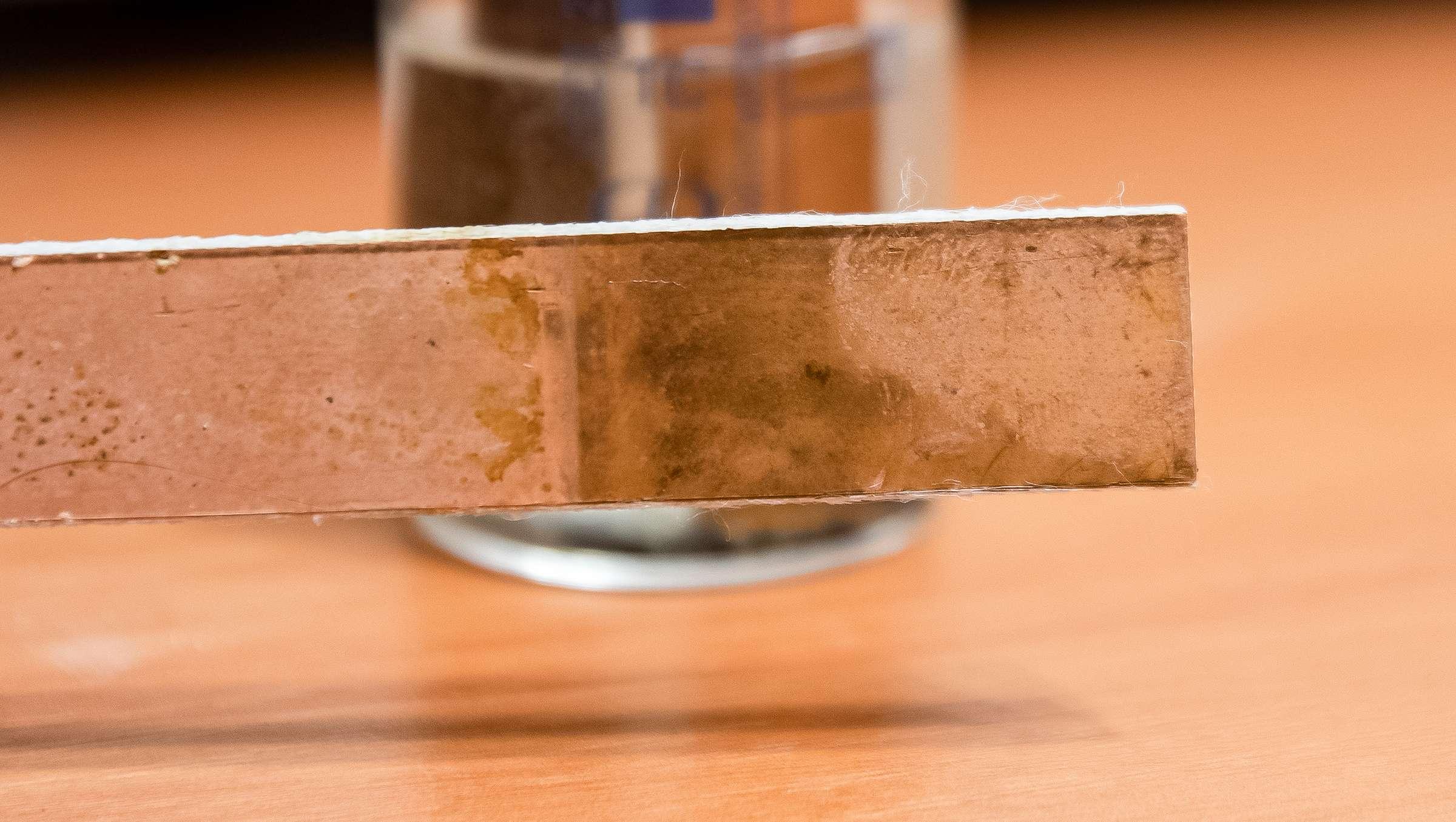 Взаимодействие медной фольги с перекисью водорода